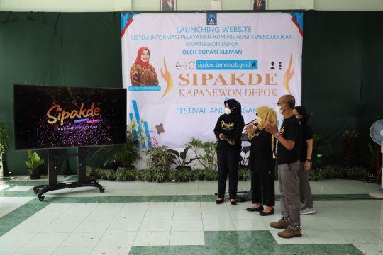 """Bupati Sleman resmikan peluncuran aplikasi """"Sipakde"""" Kecamatan Depok"""