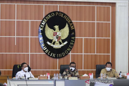 Mahfud minta sukses pengamanan PON XX dilanjutkan di Peparnas Papua