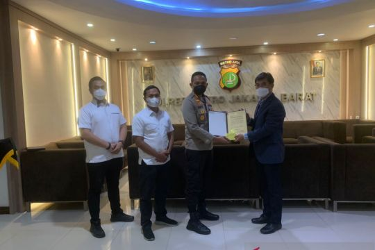 Polres Jakbar dapat penghargaan karena temukan WNA Korsel yang hilang