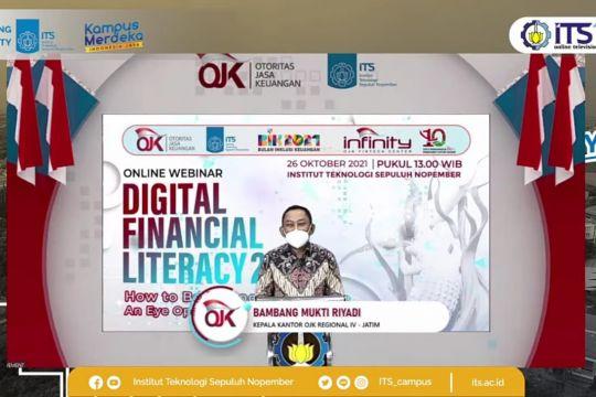 "OJK gandeng ITS luncurkan program ""digital financial literacy"" 2021"