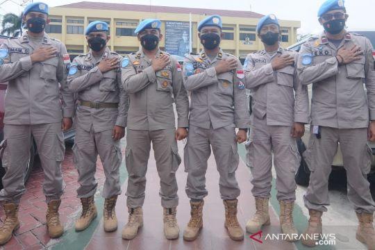 Personel Polda Kalsel berpangkat tituler perwira di Afrika Tengah