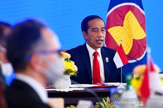 Jokowi: ASEAN-Korea miliki potensi besar ekonomi hijau dan digital