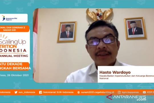 BKKBN: Stunting turun tingkatkan kualitas generasi muda Indonesia
