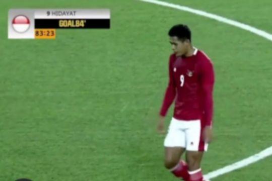 Indonesia kalah 2-3 dari Australia