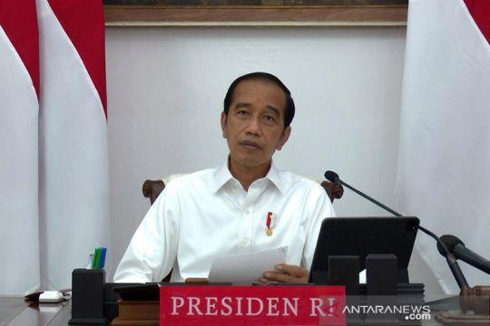 Presiden minta kepala daerah waspadai lonjakan kasus sekecil apa pun