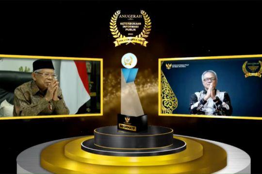 BKKBN meraih anugerah Keterbukaan Informasi Publik 2021