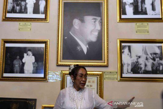 Sukmawati Soekarnoputri jalani upacara