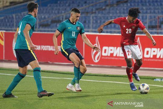 Indonesia kalah 2-3 lawan Australia dalam kualifikasi Piala Asia U-23