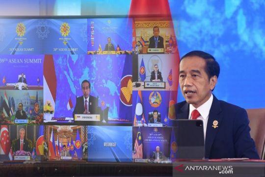 Presiden Jokowi dorong kemitraan saling menghormati di KTT ASEAN-RRT