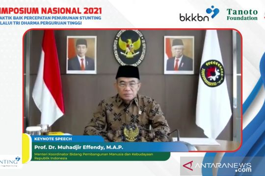 Menko PMK: BKKBN perlu sentuh mahasiswa dahulu untuk cegah stunting