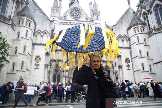 Pengadilan Inggris segera putuskan soal ekstradisi Julian Assange