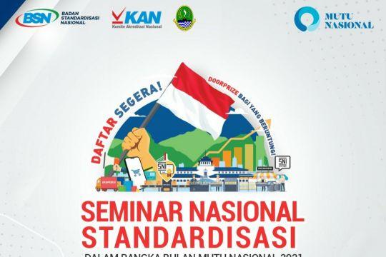 BSN-Jabar selenggarakan Bulan Mutu Nasional 2021 di Bandung