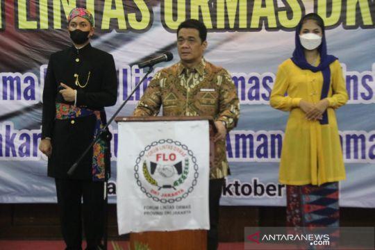 Ormas DKI diajak kolaborasi jaga stabilitas Ibu Kota