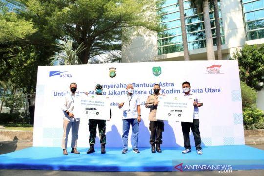 Astra serahkan dua mobil vaksinasi untuk Polres-Kodim Jakarta Utara