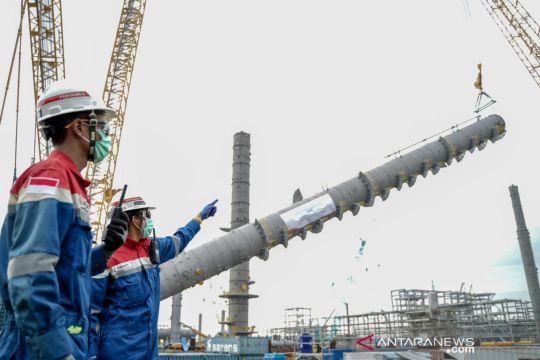 """Pertamina telah pasang """"propylene splitter"""" di proyek RDMP Balikpapan"""