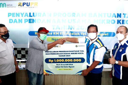Jasa Marga salurkan bantuan Rp1 miliar untuk UMK terdampak pandemi