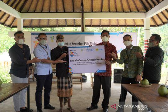 PLN tetapkan Desa Aan jadi desa pertama 100 persen PLN Mobile di Bali