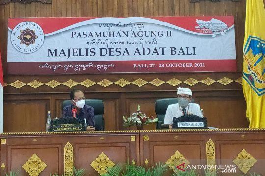 Gubernur Bali minta desa adat aktif sukseskan program pemerintah
