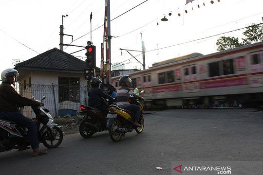 Polisi sebut perlintasan kereta di Jalan Tenaga Listrik tak berizin