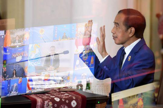 Presiden Jokowi berharap rivalitas kekuatan besar diakhiri di KTT EAS