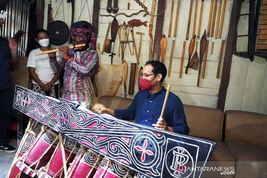 Nadiem dorong musik tradisi dicintai masyarakat luas
