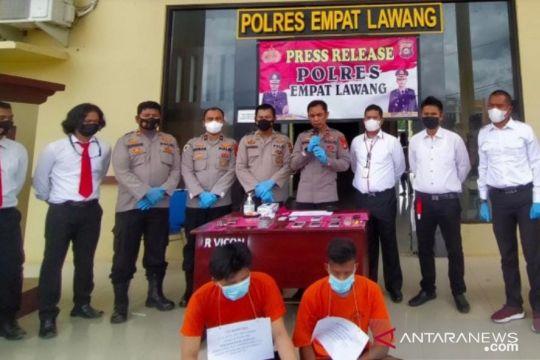 Seorang oknum polisi di Empat Lawang terjaring operasi sergap narkoba
