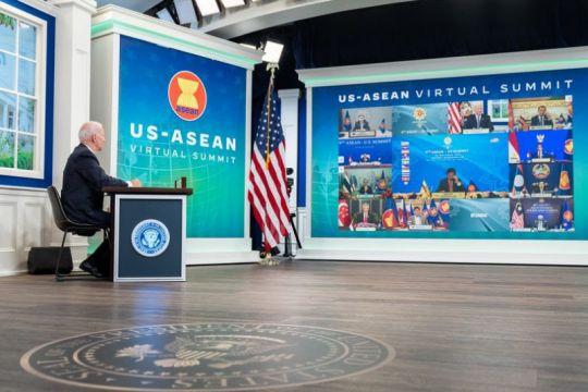Biden umumkan dana untuk inisiatif baru perluas kemitraan AS-ASEAN
