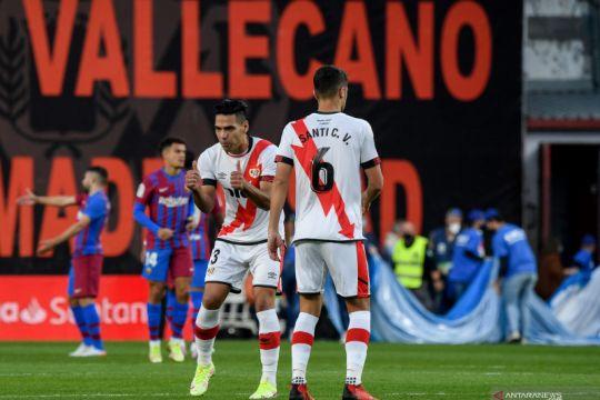 Barcelona tumbang di kandang Rayo Vallecano
