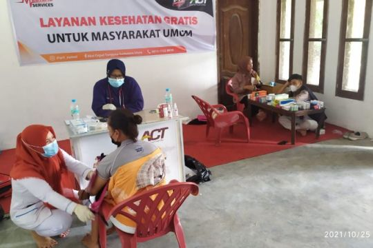 ACT buka pelayanan kesehatan gratis di Medan