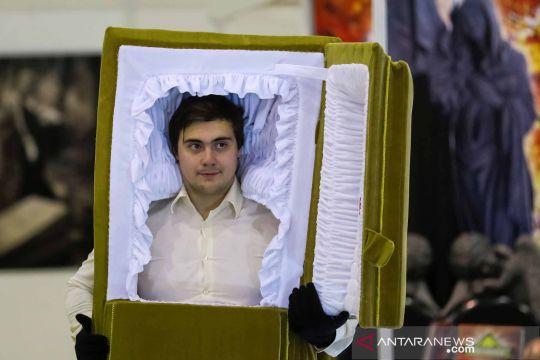 Uniknya Pameran Kematian di Kota Moskwa