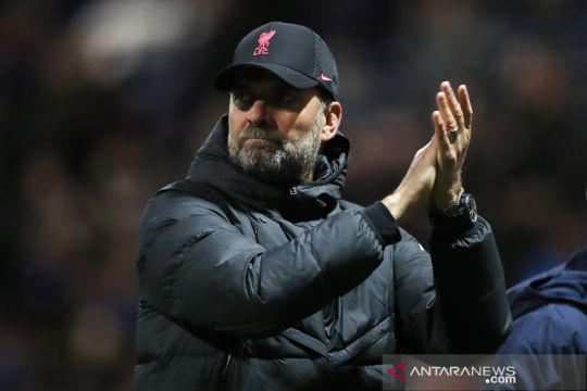 Klopp akui Liverpool tak main bagus, tapi puji performa individual