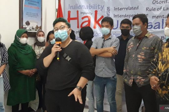 Keluarga korban kebakaran Lapas Tangerang mengadu ke Komnas HAM