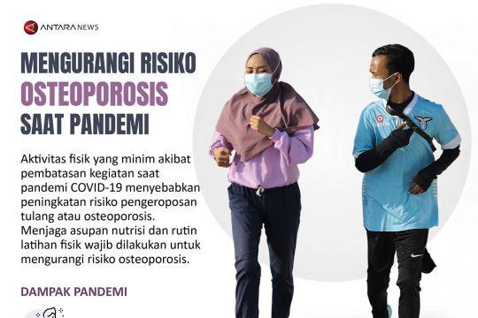 Mengurangi risiko osteoporosis saat pandemi