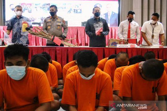 Polda Jatim tangkap 72 pesilat pelaku kekerasan dan perusakan