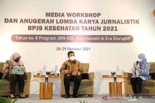 BPJS Kesehatan berikan penghargaan Karya Jurnalistik
