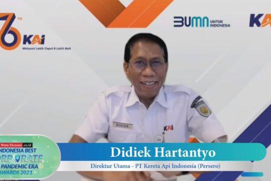 KAI raih penghargaan Indonesia Best Corporate in Pandemic Era