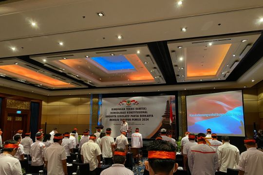 Partai Berkarya gelar bimtek untuk persiapan Pemilu 2024