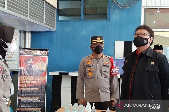 Menpan RB tinjau pelayanan publik di Mapolresta Banda Aceh