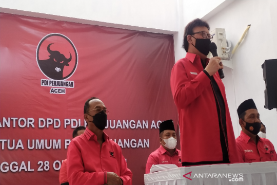 Menpan RB resmikan empat Kantor PDI Perjuangan di Aceh