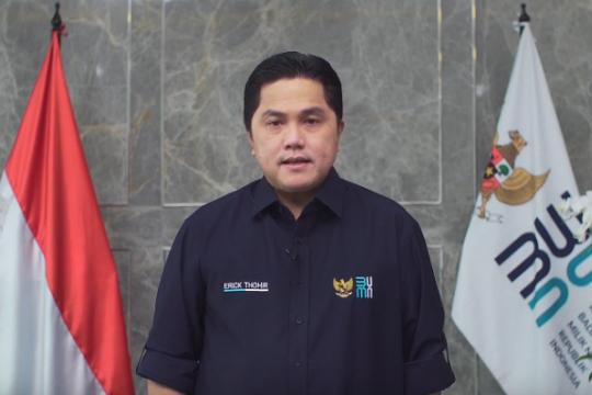 Erick: Kolaborasi Semen Indonesia dan PUPR jadi contoh bagi BUMN lain