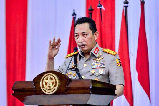 Kapolri: Sinergitas TNI-Polri kunci hadapi berbagai ancaman