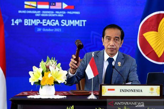 Jokowi: kunci pemilihan ekonomi lewat kerja sama BIMP-EAGA