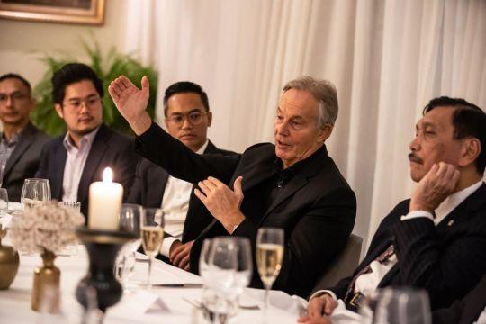 Luhut bertemu Tony Blair, bahas COP26 hingga ibu kota baru