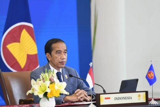 Presiden Jokowi harap kesehatan jadi fokus utama relasi ASEAN-India