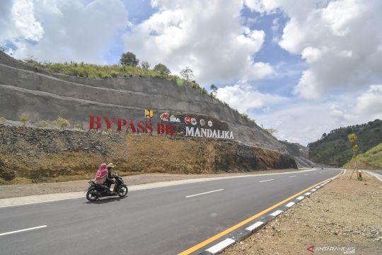 Kementerian PUPR telah rampungkan pembangunan jalan menuju kawasan Mandalika