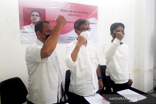 Pendukung Budiman Sudjatmiko deklarasikan Aliansi BerSinar