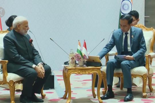 Presiden Jokowi dorong kerja sama bidang kesehatan ASEAN-India