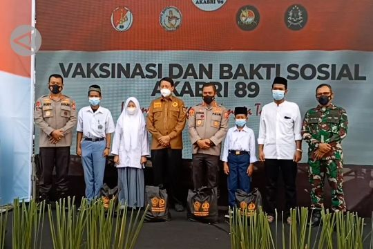 Alumni Akabri 89 jangkau dua wilayah vaksinasi rendah di Banten