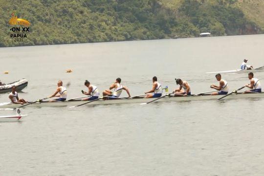 Jawa Barat borong 6 medali emas dayung rowing