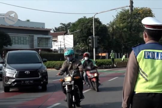 Lokasi ganjil genap di Jakarta jadi 13 titik